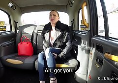 Though pussy blonde bangs in fake taxi