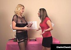 Milf & Coochies Babe Sale! Charlee Chase & Allura Skye Fuck A Hard Dick!