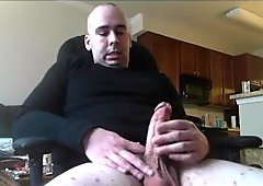 Str8 men watching porn & jerk VI