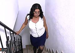AgedLovE Latina Mature Chubby Lucia Hardcore