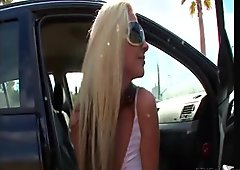 Suzanna stunning amateur blonde girl public masturbating