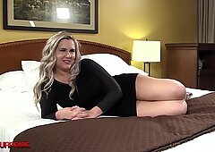 Hot Blonde Torii Takes A Big Black Cock In Her Tight Pink Plump Pussy!