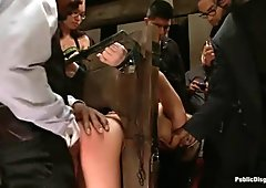 Hot pretty hottie punished and drilled