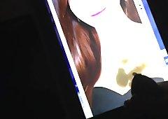 cum on Jessica (birthday Tribute)