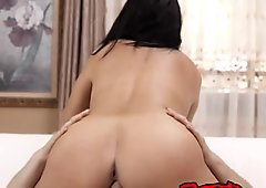Busty Babe Lacie James Gets Fucked By a Hung Stud