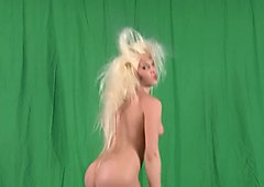 Wild Blonde Stripping For You - Julia Reaves