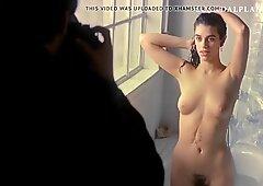 Ruth Gabriel Nude Spread Pussy Bush on ScandalPlanetCom