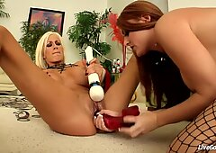 LiveGonzo Sophie Dee and Puma Swede Craving for Hard Co
