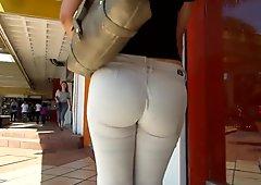 tigh ass Jeans Ajustados