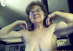 Granny biceps like you have never seen granny biceps