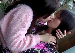Belo Kiss Throat Obscenity Lesbian Crazy! !~