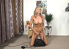 Naughty Mom Rides Toy